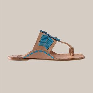 fdf537db841e7c Tory Burch Shoes - NWOT TORY BURCH Caylan Toe Ring Sandals